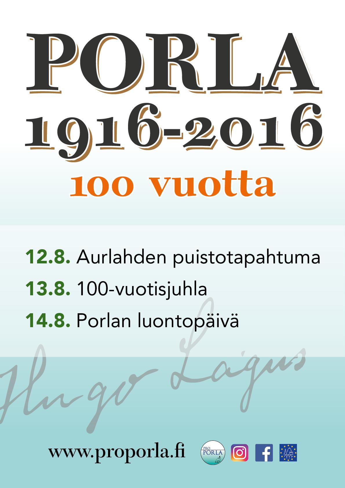 Porla100_Juliste A2
